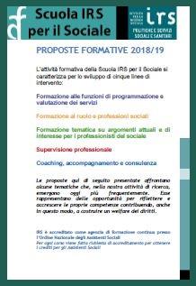 SCARICA LA BROCHURE DEI CORSI IN SEDE 2019