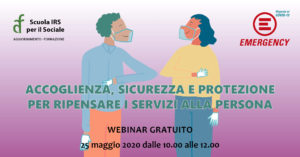 ON LINE LA REGISTRAZIONE DEL WEBINAR EMERGENCY IRS